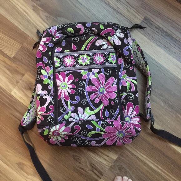 Vera Bradley Bags   Backpack In Purple Punch   Poshmark 312dba6161